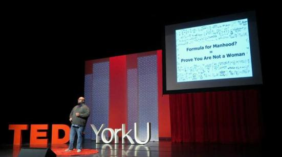 Jeff at TEDxYorkU 2014