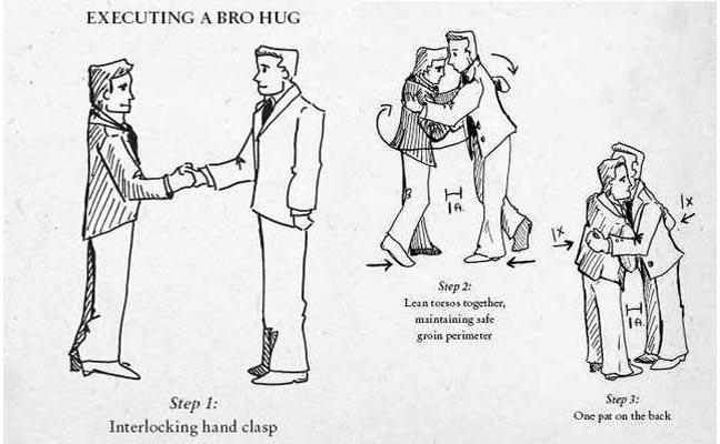 Image result for bro hug image
